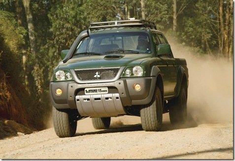 Mitsubishi lança edição especial da L200 em comemoração dos 15 anos da Mitsubishi Cup