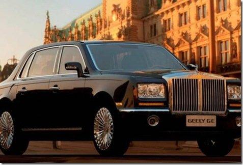 Geely GE, o Rolls Royce Chinês