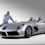 Mercedes mostra SLR Stirling Moss