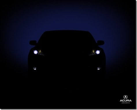 Primeiros teasers do crossover-coupé da Acura