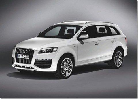 Audi Q7 recebe novo visual