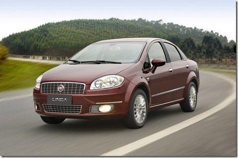 Fiat lança Linea na Argentina