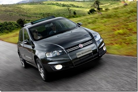 Fiat lança Stilo Blackmotion a partir de 65.900