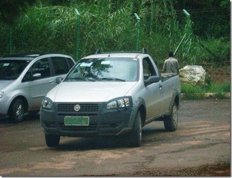 Strada também receberá os faróis do Palio 2008