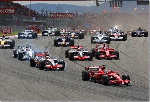 F1 terá novo sistema de pontuação esse ano