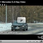 Vídeo espia-Mercedes CLS 2011
