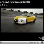Vídeo-Mégane RS