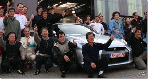 Nissan GT-R bate recorde no Circuito de Nürburgring