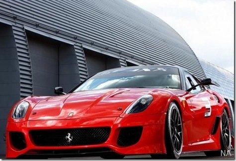 Ferrari 599XX, cheio de tecnologia, mas apenas para clientes 'VIPs'