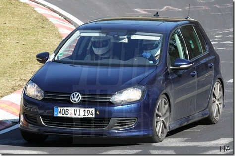 Golf R20T é flagrado em Nürburgring