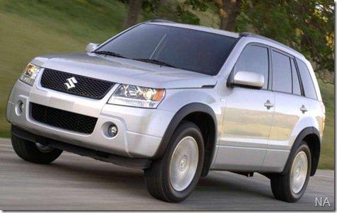 Suzuki lança nova versão mais potente para o Grand Vitara