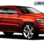 Chrysler divulga esboço da nova Jeep Cherokee SRT8