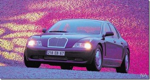 Bugatti Royale em Frankfurt?