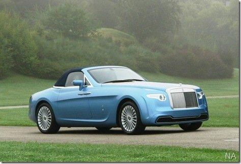 Rolls-Royce desenhado pelo estúio Pininfarina vale 4,5 milhões de Euros