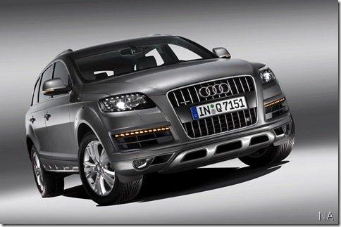 Audi Q7 recebe reestilização