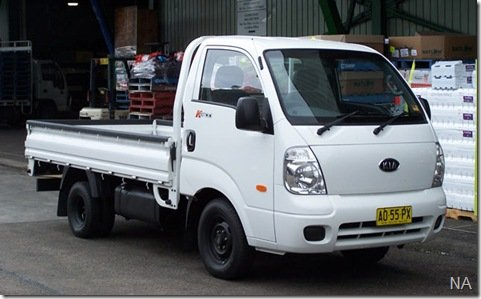 Kia, em parceria com a Nordex, montará a Bongo no Uruguai