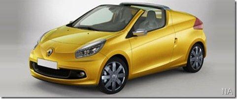Renault confirma lançamento do Twingo cabrio em 2010