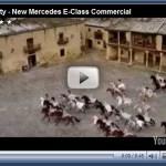 Comercial do Mercedes Classe E cupê