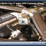Videos do Aston Martin One-77 no 'Concorso d'Eleganza'