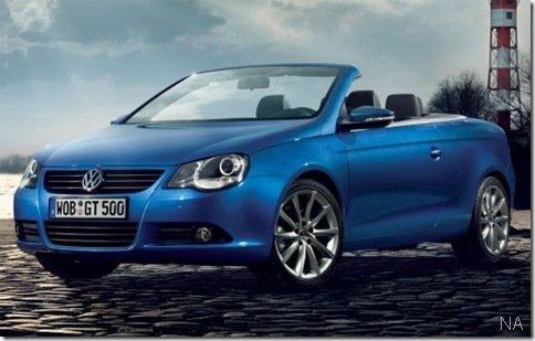 Volkswagen lança Eos GT Sport na Alemanha