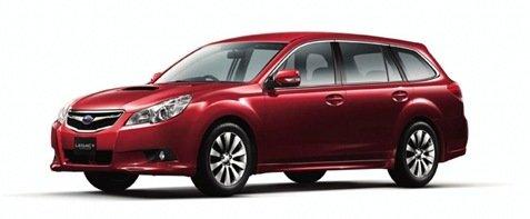 Subaru divulga as primeiras fotos da nova perua Legacy