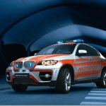 BMW X6 em versão ambulância