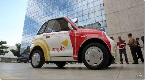 Empresa de energia elétrica do Rio, adota pequenos carros elétricos em sua frota