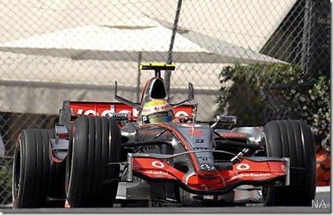 Propaganda da Martini distraiu os pilotos no GP de Mônaco