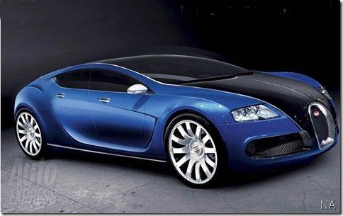 Bugatti pode lançar sedan de quatro portas em Frankfurt