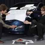 Opel mostra teaser de parte de seu novo Astra