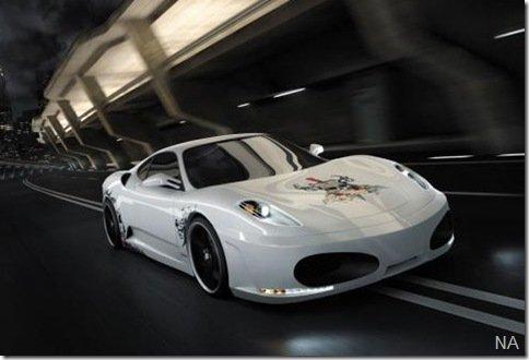 Unique Sportcars cria F430 Calavera