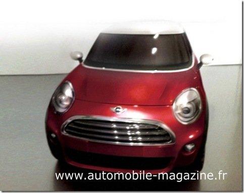 Surgem na internet imagens da próxima geração do Mini Cooper
