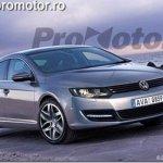 Projeções da nova geração do VW Passat