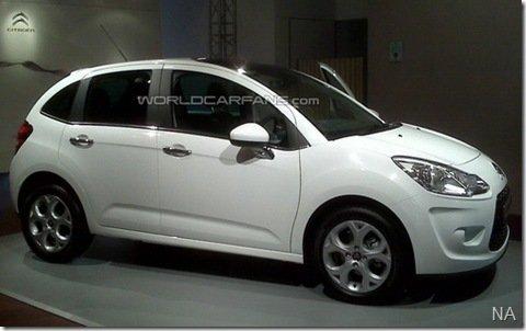 Nova geração do Citroën C3 aparece sem qualquer disfarce