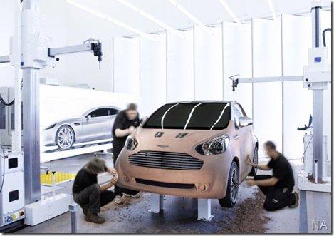 Aston Martin mostra compacto baseado no Toyota IQ