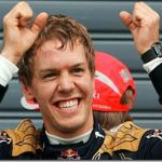 Vettel vence GP de Silverstone. Rubinho em 3° e Massa em 4°