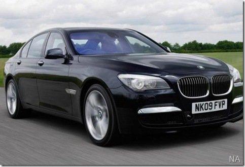 BMW Série 7 M Sport tem suas primeiras imagens divulgadas