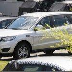 Nova geração da Hyundai Santa Fé europeu é flagrada na Alemanha