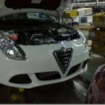 Sucessor do Alfa Romeo 147, flagra do Milano vazou na internet