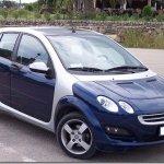 Smart quer relançar ForFour com a ajuda da Renault