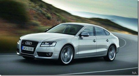 Audi apresenta oficialmente o A5 Sportback
