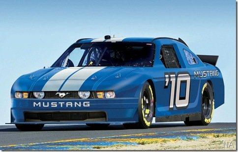 Ford Mustang correrá na NASCAR