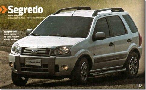 EcoSport ganhará mudanças no modelo 2010