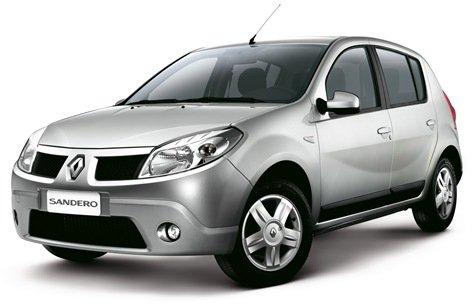 Renault lança Logan e Sandero 2010 com algumas alterações