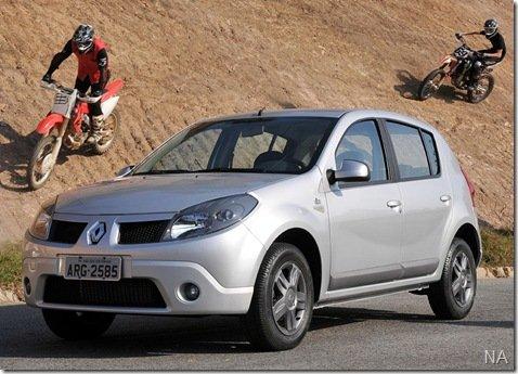 Renault lança edição limitada do Sandero, a Vibe
