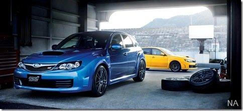 Subaru apresenta o Impresa WRX STi spec C