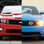 Camaro vendeu mais que o Mustang em junho