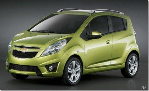 GM irá produzir carro econômico no Brasil