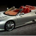 Spyker apresenta o C8 Aileron Spyder