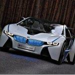 BMW mostra imagens do conceito Vision EfficientDynamics